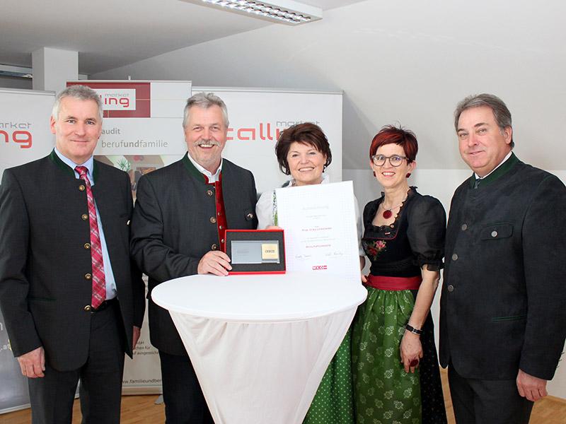 Auszeichnung für Erika Leibetseder